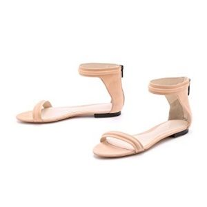 NEW 3.1 Phillip Lim Suede Open Toe Sandals